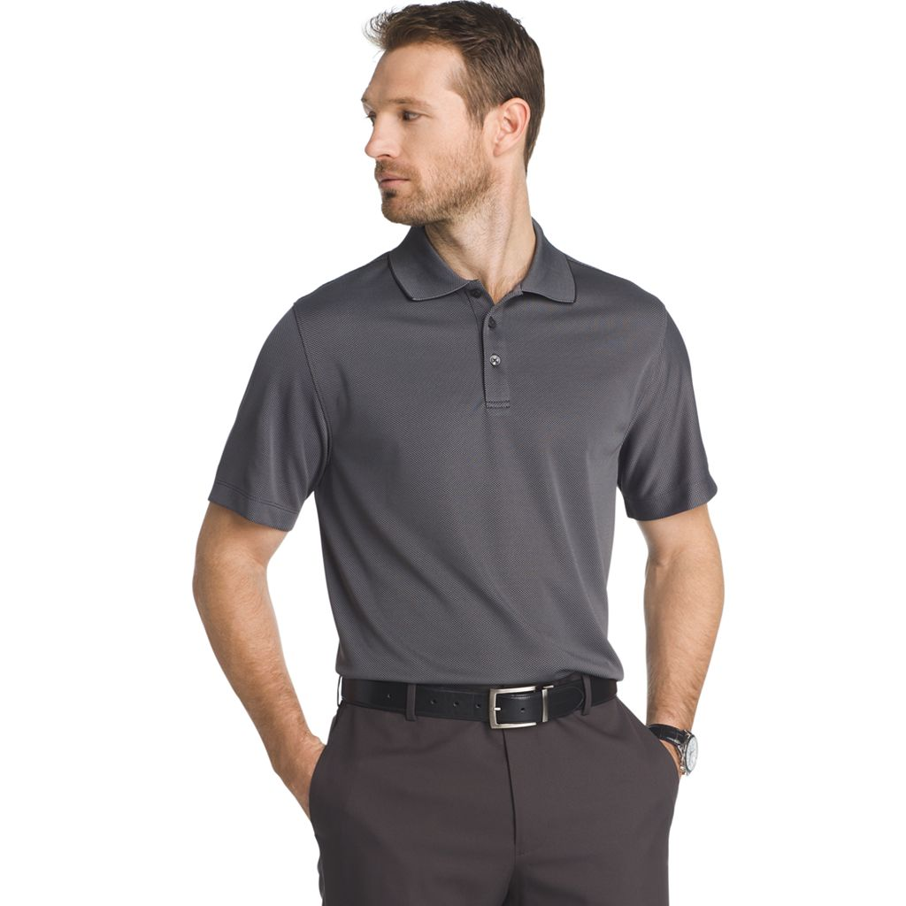 Men's Van Heusen Traveler Air Birdseye Classic-Fit Performance Polo