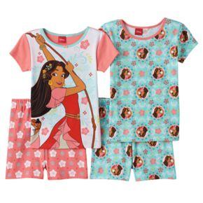 Disney's Elena of Avalor Girls 4-10 Pajama Set