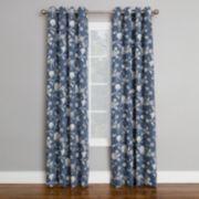 Corona 1-Panel Brixton Window Curtain