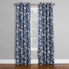 Corona 1-Panel Brixton Window Curtain
