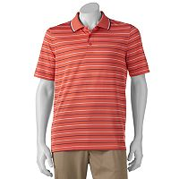 Men's Croft & Barrow® Classic-Fit Striped Mesh Performance Polo