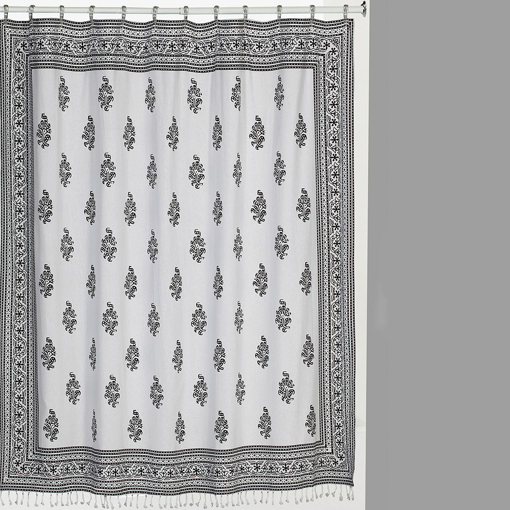 Creative Bath Nomad Cotton Shower Curtain