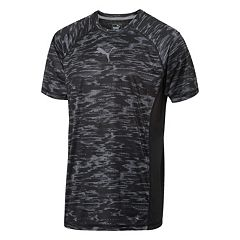 Men's PUMA Colorblock Graphic Tee