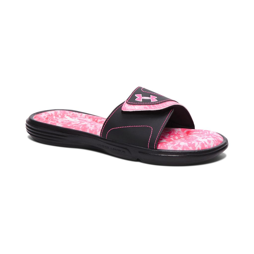 Under Armour Power In Pink Ignite VII Women's Slide Sandals