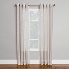 Corona 1-Panel Larkfield Window Curtain