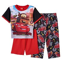 Disney's Cars Lightning McQueen & Mader 3-pc. Pajama Set