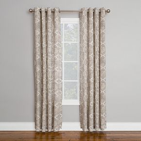 Corona 1-Panel Solana Window Curtain