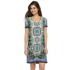 Petite Suite 7 Paisley Shift Dress