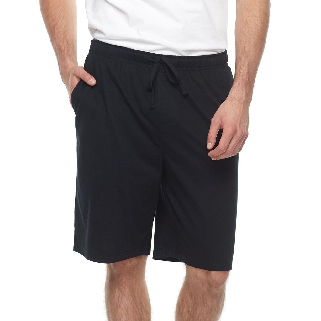 Big & Tall Croft & Barrow® Solid Knit Jams Shorts