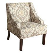 HomePop Suri Swoop Arm Accent Chair