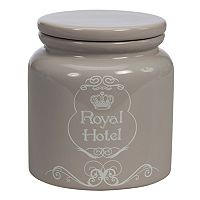 Creative Bath Royal Hotel Ceramic Jar