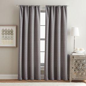 Peri 1-Panel Lanza Window Curtain