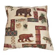Trail's End Throw Pillow