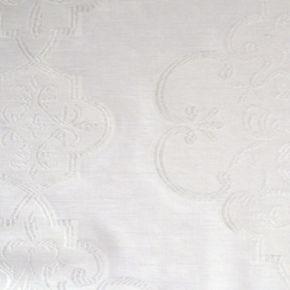 Peri Medallion Print Clip Sheer Window Curtain