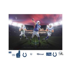 Indianapolis Colts Andrew Luck Montage Mural Wall Decal by Fathead
