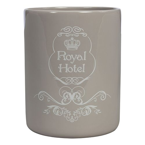 Creative Bath Royal Hotel Ceramic Wastebasket
