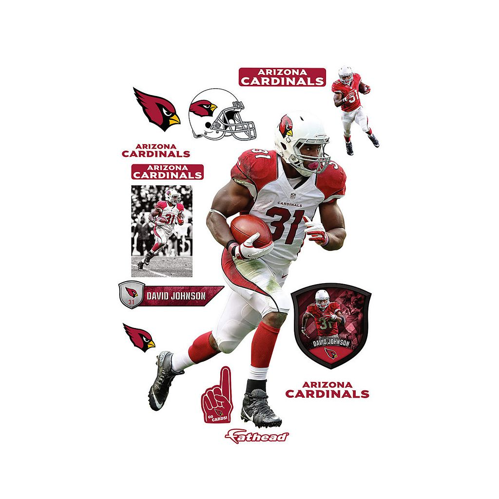 Arizona Cardinals David Johnson Wall Decal by Fathead