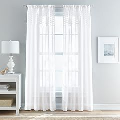 Peri 1-Panel Breeze Sheer Window Curtain