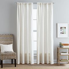 Peri 1-Panel Boardwalk Window Curtain