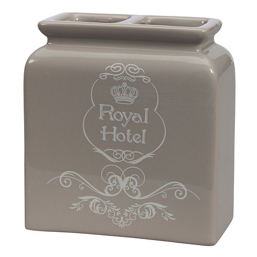 Creative Bath Royal Hotel Ceramic Toothbrush Holder
