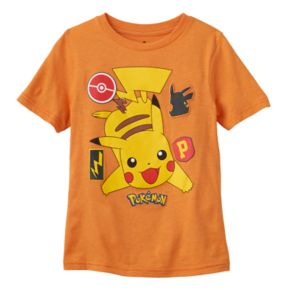 Boys 4-7 Pokémon Patch Pikachu Graphic Tee