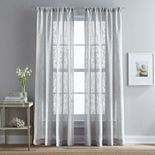 Peri 1-Panel Bridge Hampton Sheer Window Curtain
