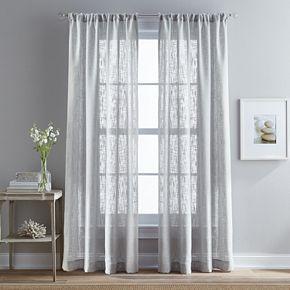 Peri 1-Panel Bridge Hampton Sheer Window Curtain