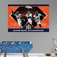 Denver Broncos Super Bowl 50 Champions Mural Wall Decal by Fathead
