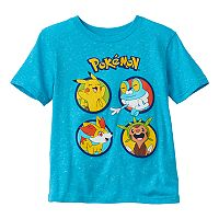 Boys 4-7 Pokémon Slubbed Graphic Tee