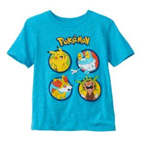 Boys 4-7 Pokémon Slubbed Graphic Tee