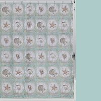 Creative Bath Sea Treasures Shower Curtain