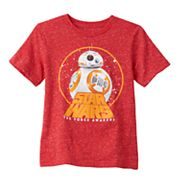 Boys 4-7 Star Wars The Force Awakens BB-8 Glow-in-the-Dark Tee