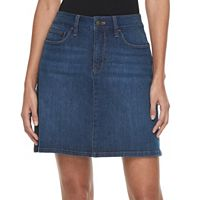 Petite Croft & Barrow® Essential Jean Skort