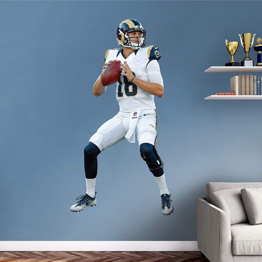 Los Angeles Rams Jared Goff Wall Decal by Fathead
