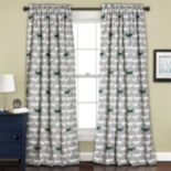 Half Moon 2-pack Alligator Window Curtain