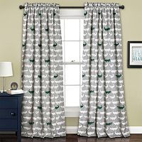 Half Moon 2-pack Alligator Curtain