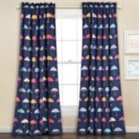 Half Moon 2-pack Umbrella Window Curtain