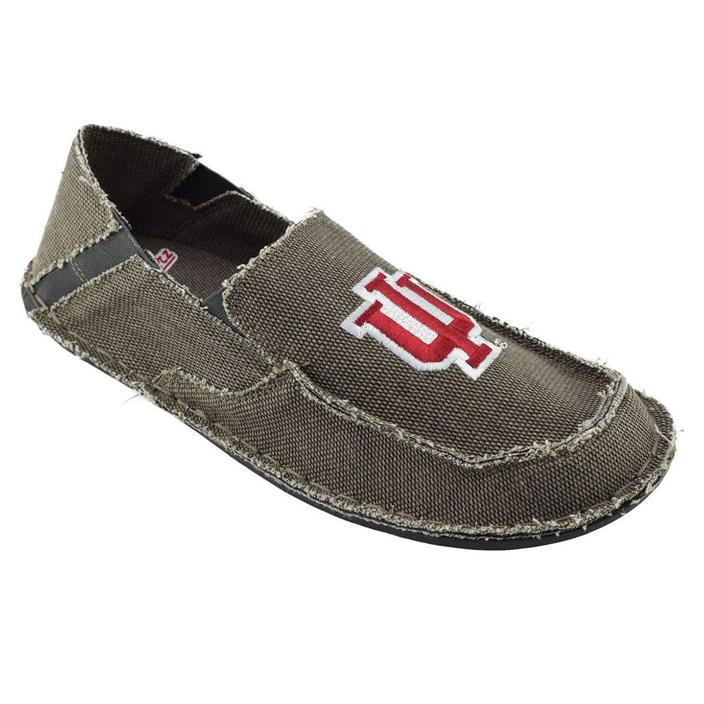 Men's Indiana Hoosiers Cazulle Canvas Loafers