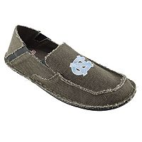 Men's North Carolina Tar Heels Cazulle Canvas Loafers