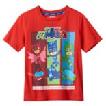 "Boys 4-7 PJ Masks Owlette, Gekko & Catboy ""Save The Day"" Graphic Tee"