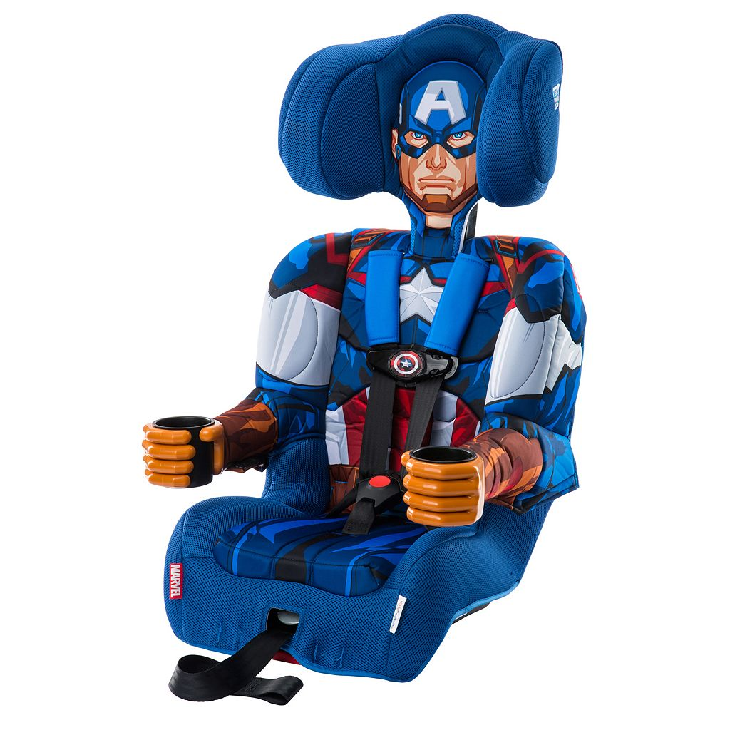 Marvel Captain America Booster Car Seat by KidsEmbrace