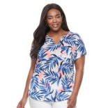Plus Size Kate and Sam Printed Tee