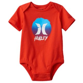 Baby Boy Hurley Circle Graphic Bodysuit