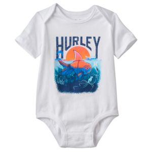 Baby Boy Hurley Fish Graphic Bodysuit