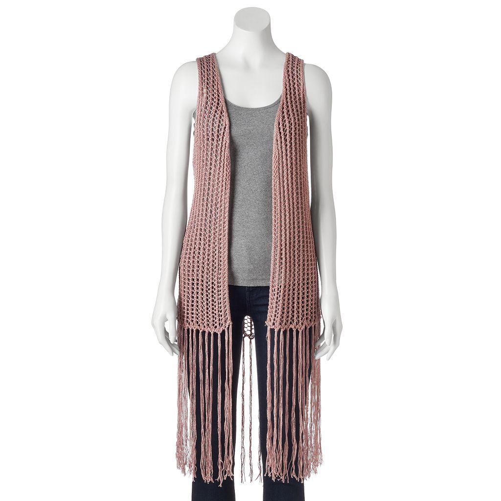 SONOMA Goods for Life™ Crochet Vest