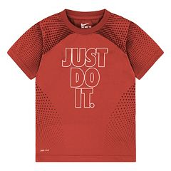 Boys 4-7 Nike 'Just Do It' Dri-Fit Tee