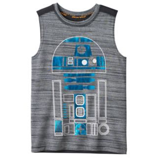 Boys 4-7x Star Wars a Collection for Kohl's R2D2 Metallic Graphic Tank Top