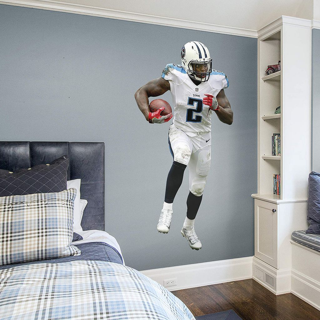 Tennessee Titans Derrick Henry Wall Decal by Fathead