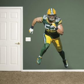 Green Bay Packers Clay Matthews Wall Decal by Fathead