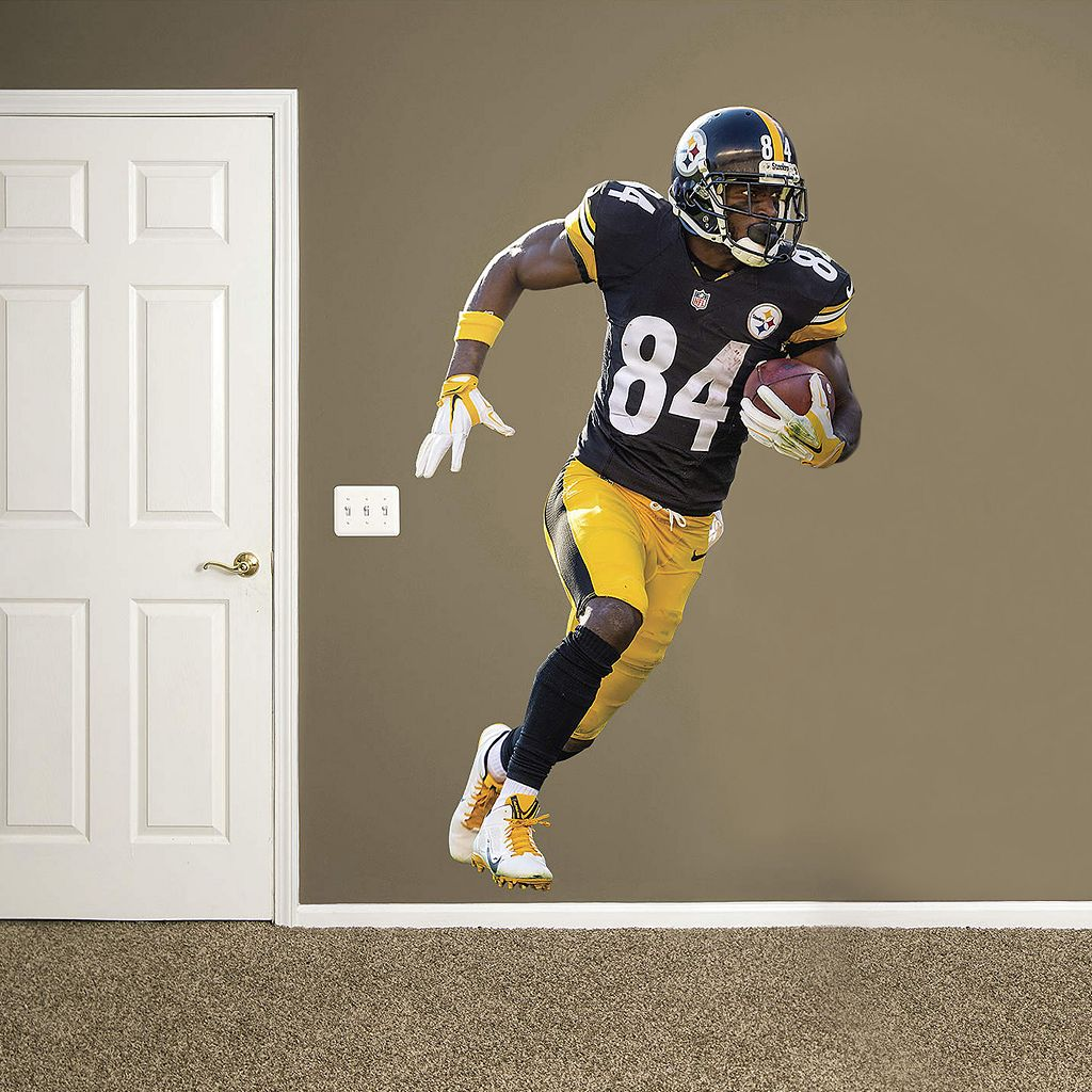 Pittsburgh Steelers Antonio Brown Real Big Wall Decal by Fathead